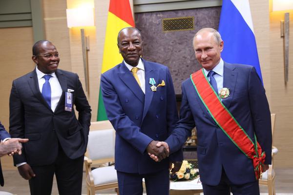 几内亚与俄罗斯签署8项合作协议